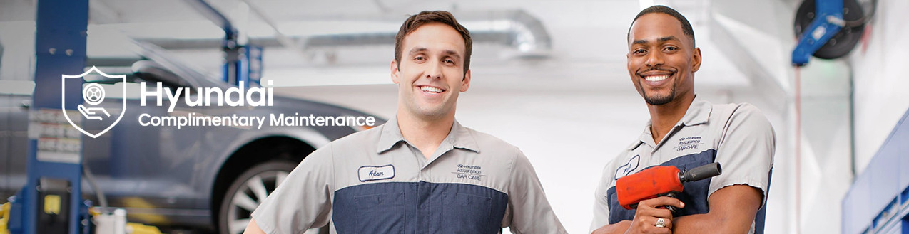 Hyundai Complimentary Maintenance in Rockford
