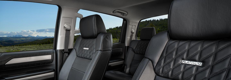 2020 Toyota Tundra Seating