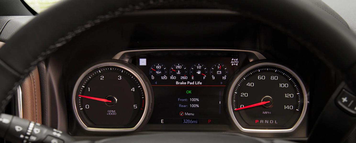 2020 Silverado HD Instrument Panel
