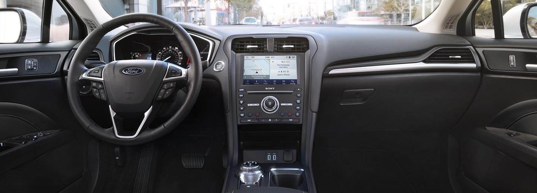 2020 Ford Fusion Dashboard
