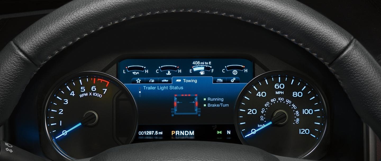 2020 Ford F-150 Instrumentation