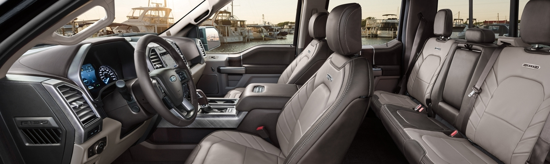 2020 Ford F-150 Cabin