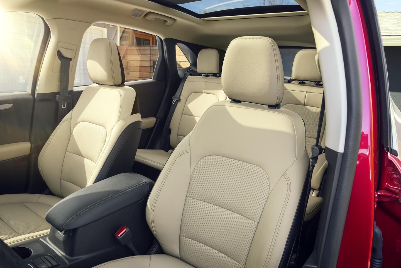 2020 Ford Escape Beige Interior