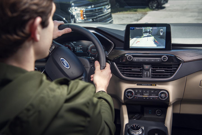 2020 Ford Escape Rear View Camera