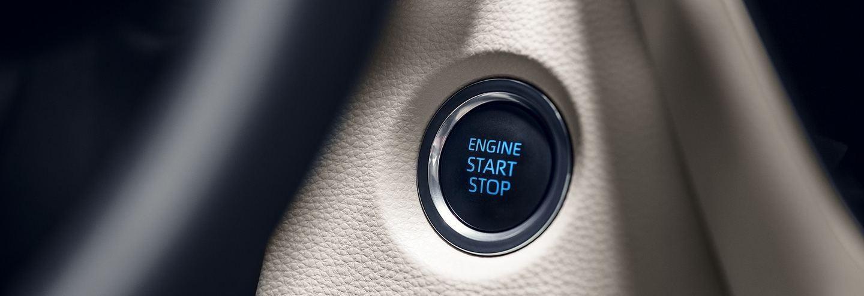 Push Button Start in the 2020 Toyota Corolla