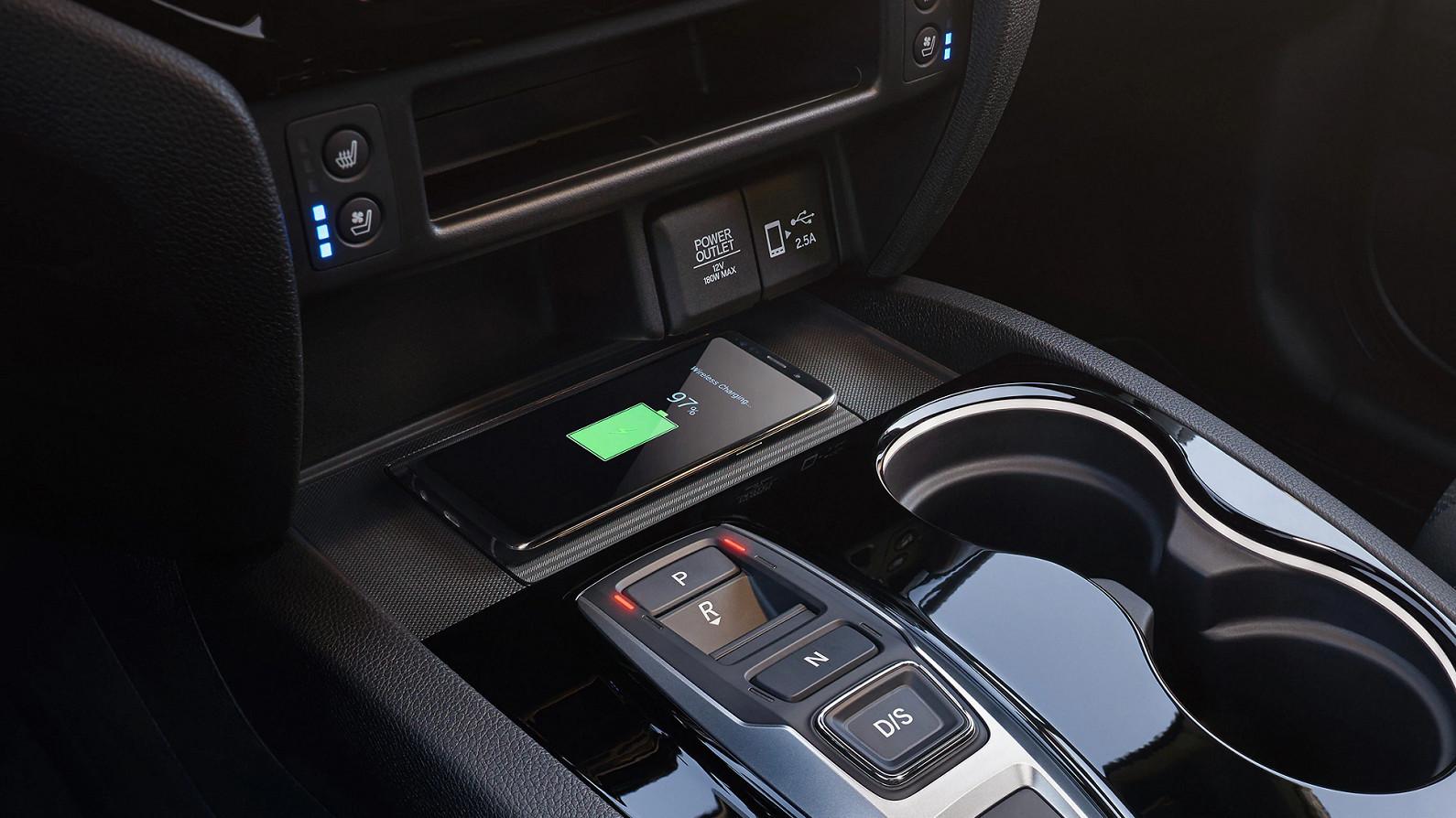 Convenient Power in a 2020 Honda
