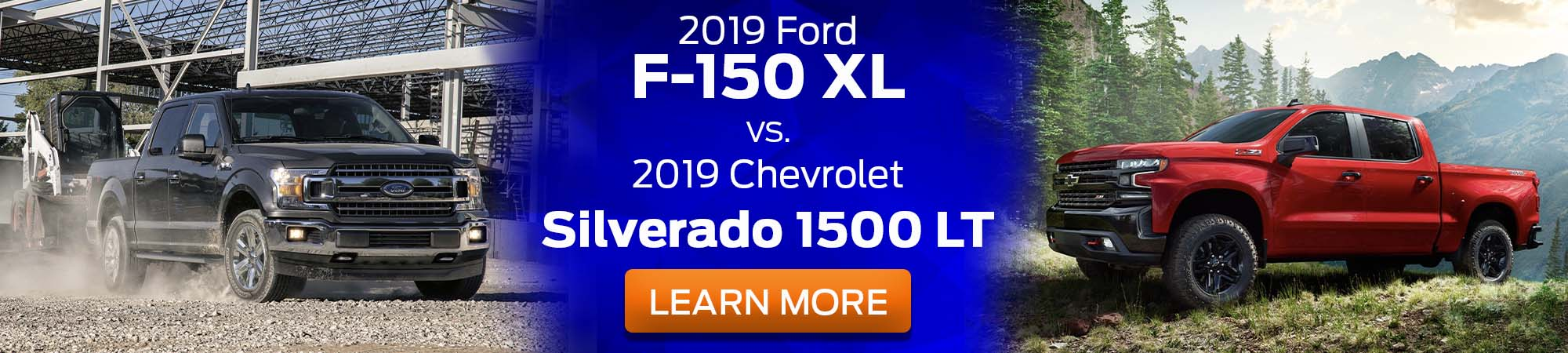 2019 Ford F-150 XL v 2019 Chevrolet Silverado 1500 LT