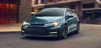 2020 Toyota Corolla Trim Comparison