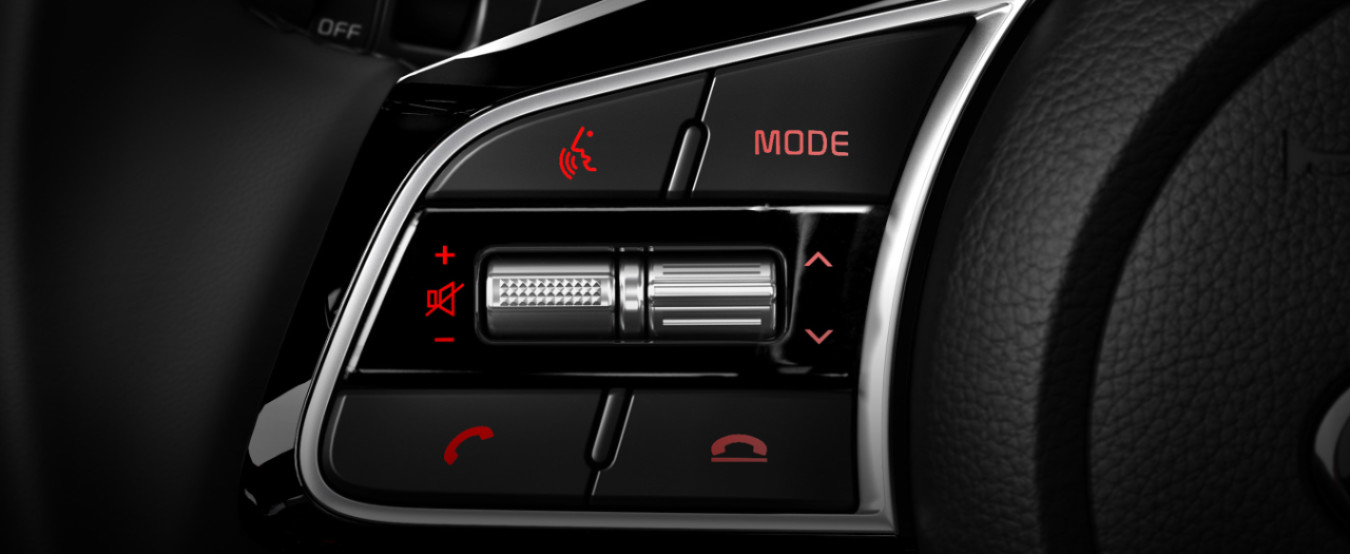 Convenient Controls in the 2020 Forte