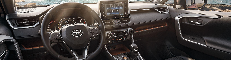 2020 Toyota RAV4 Cabin