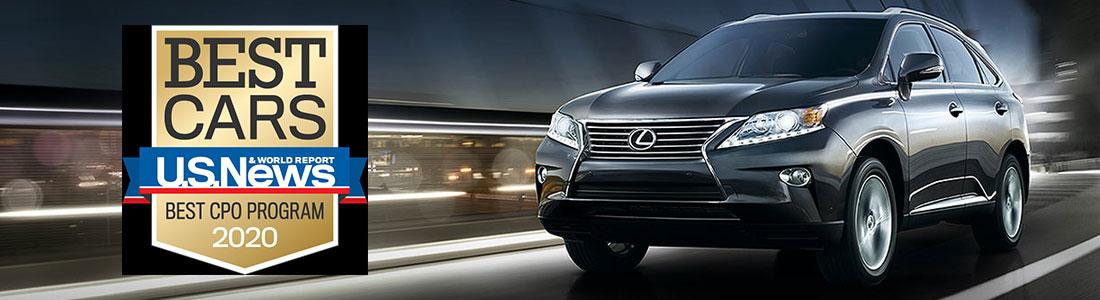 Lexus Certified Vehicle Program