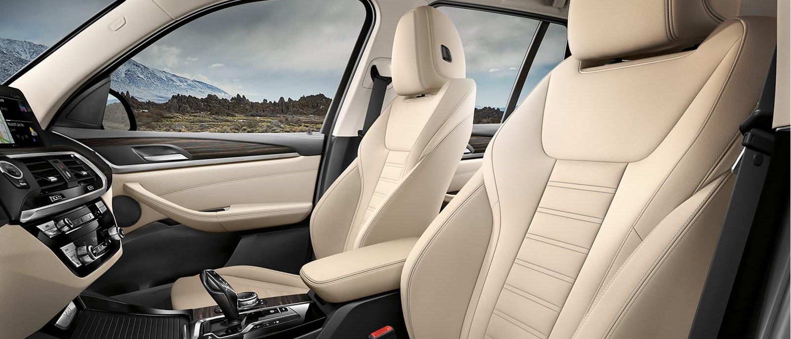 2020 X3 Front Seats