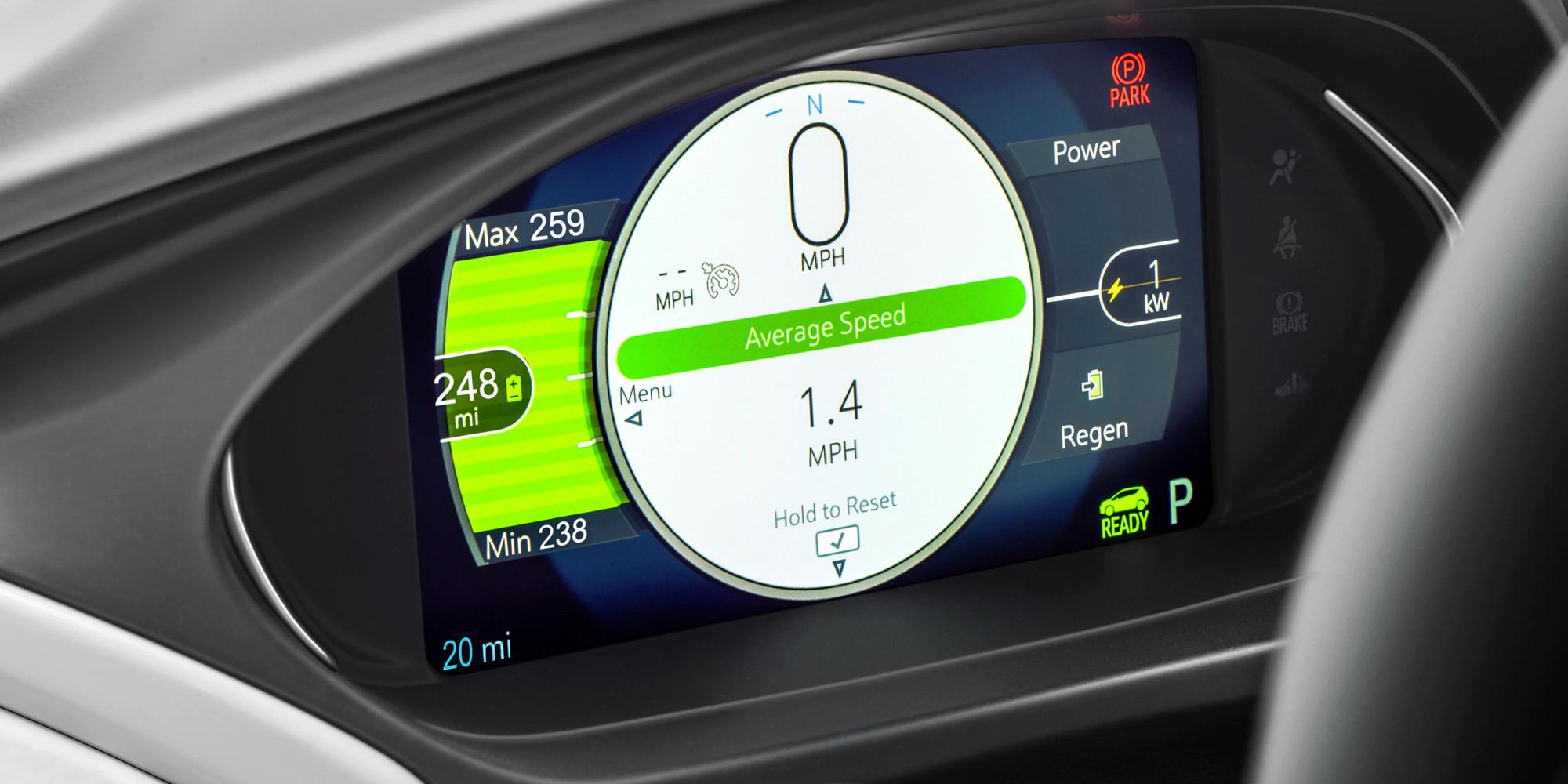 En el centro de información al conductor podrás personalizar la información que deseas ver.