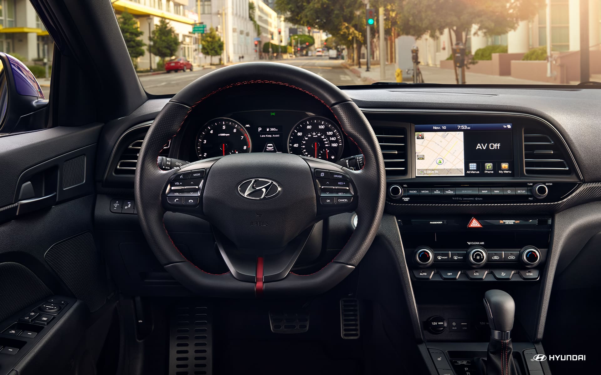 Technology in the 2020 Elantra