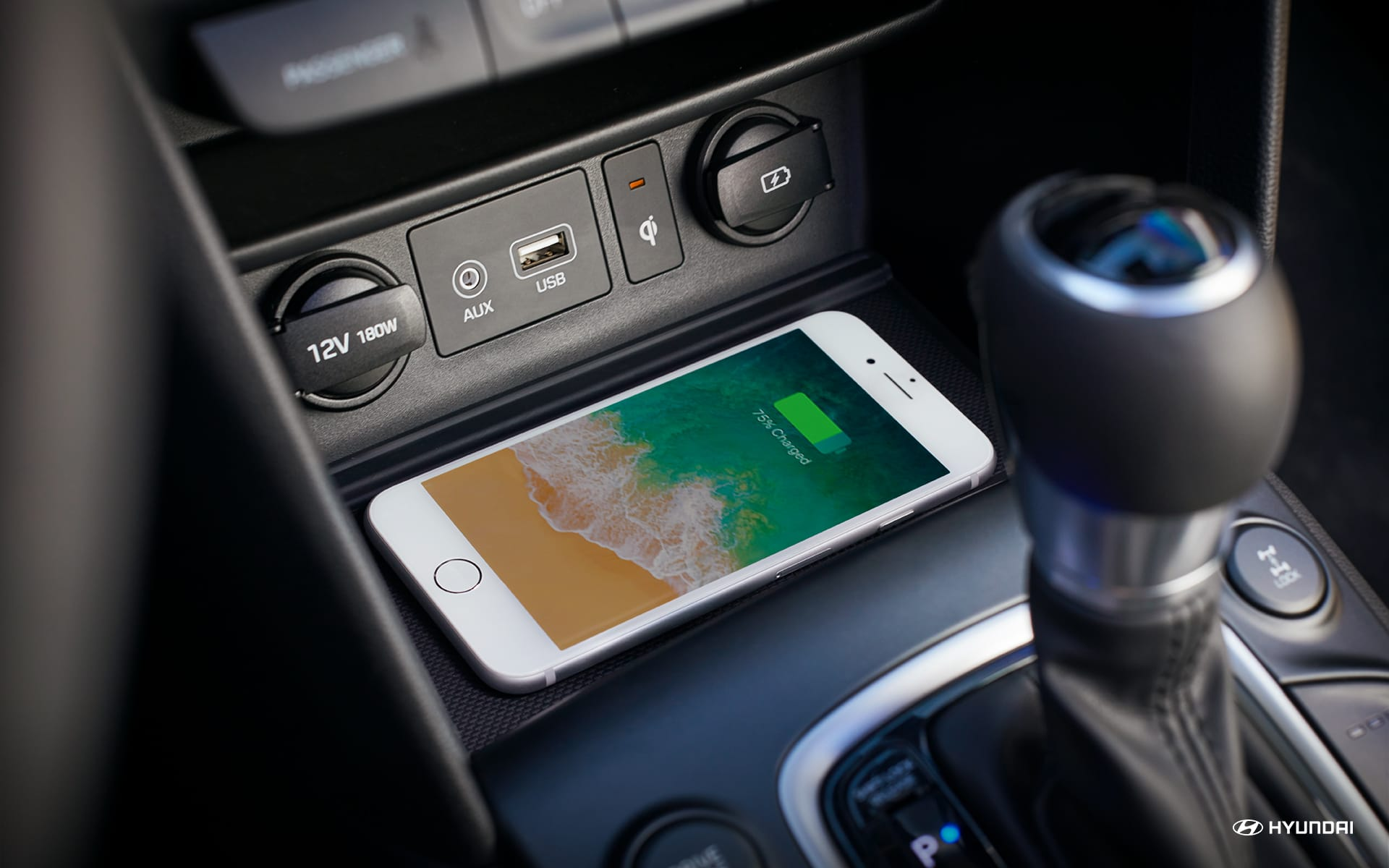 2020 Kona with Wireless Charging
