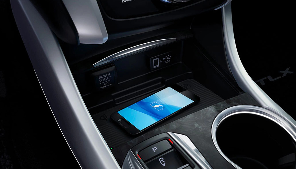 Charge Your Smartphone Quickly in the 2020 Acura TLX!