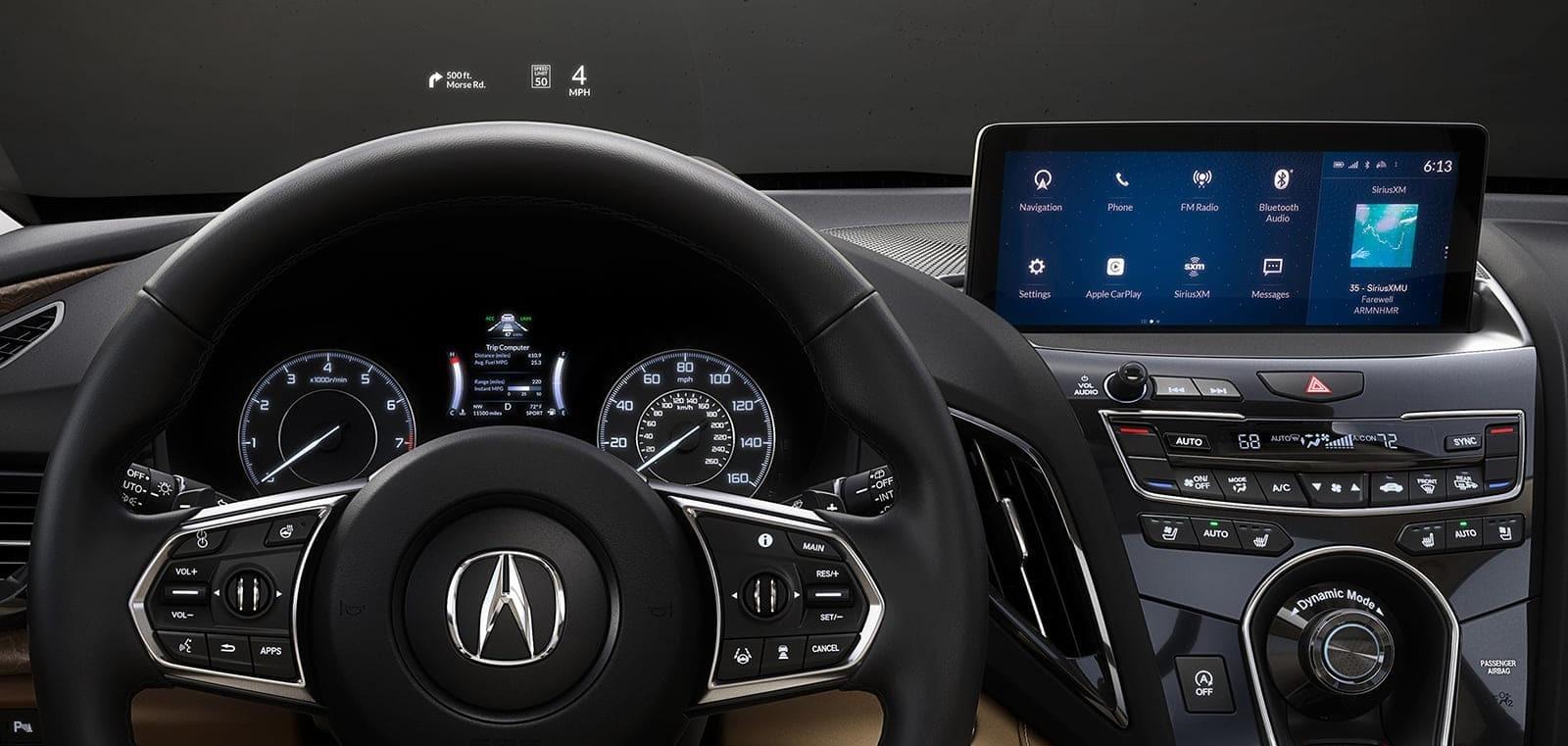 Advanced Tech in the 2020 Acura RDX