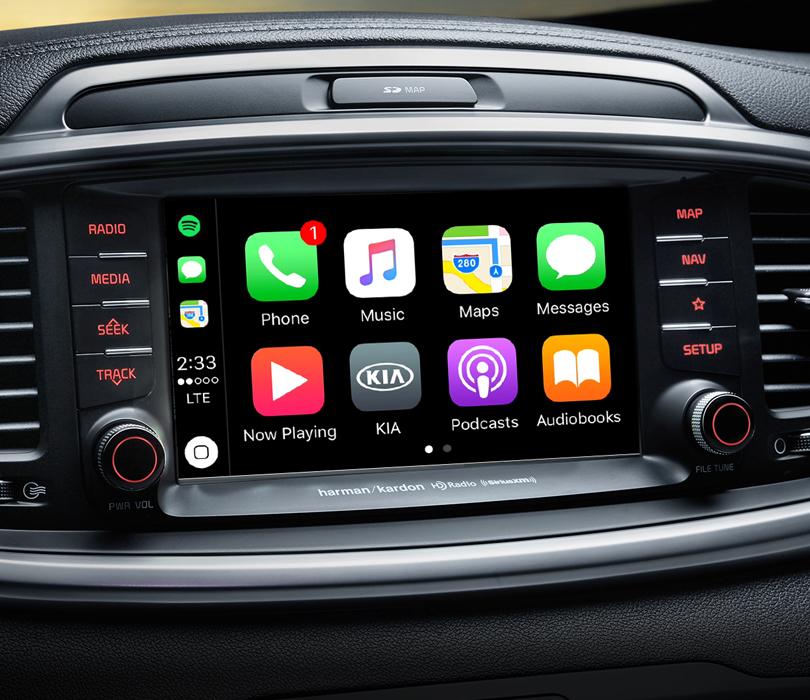 2020 Kia Sorento Apple CarPlay®