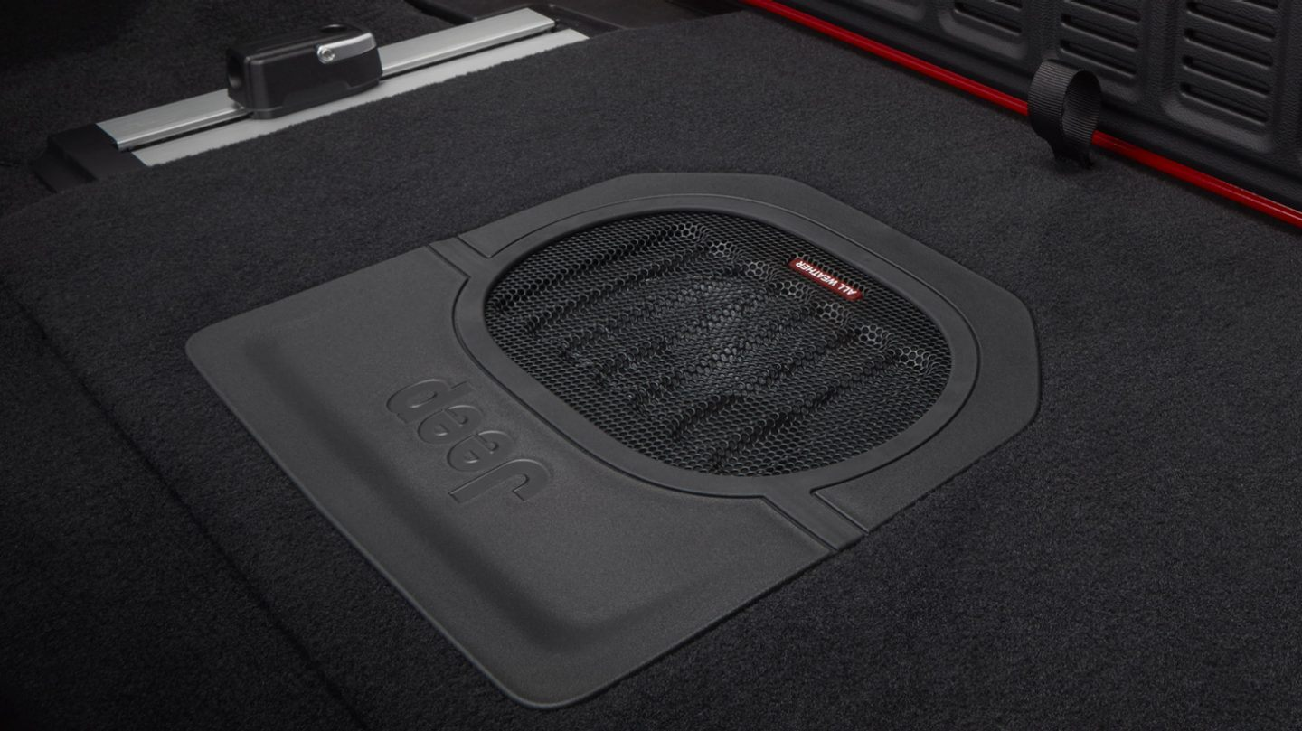 2020 Wrangler Unlimited All-Weather Subwoofer