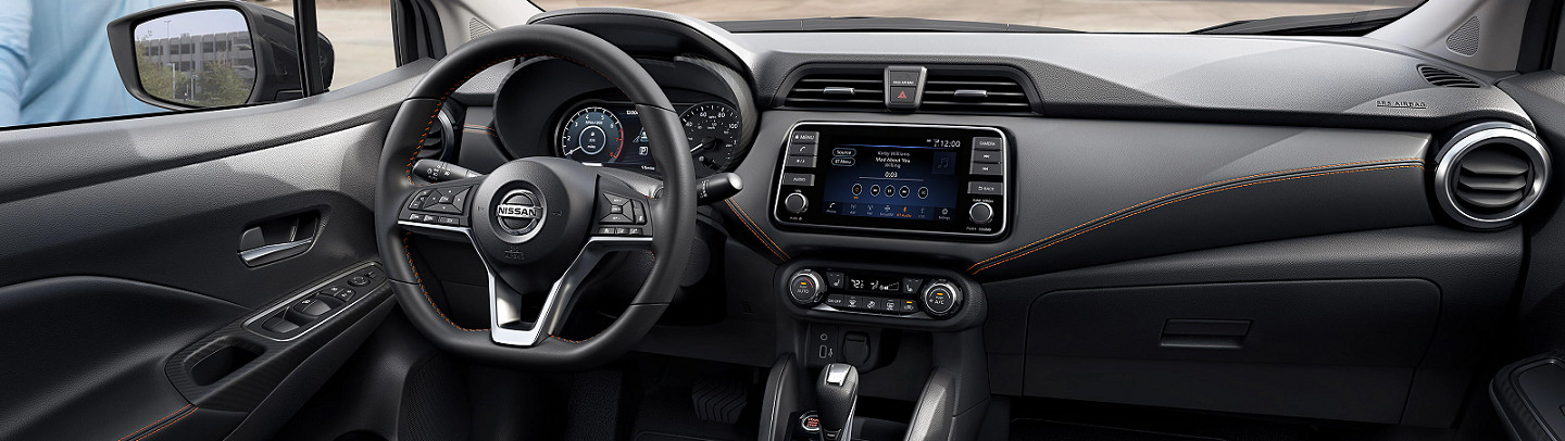 Advanced Interior of the 2020 Versa