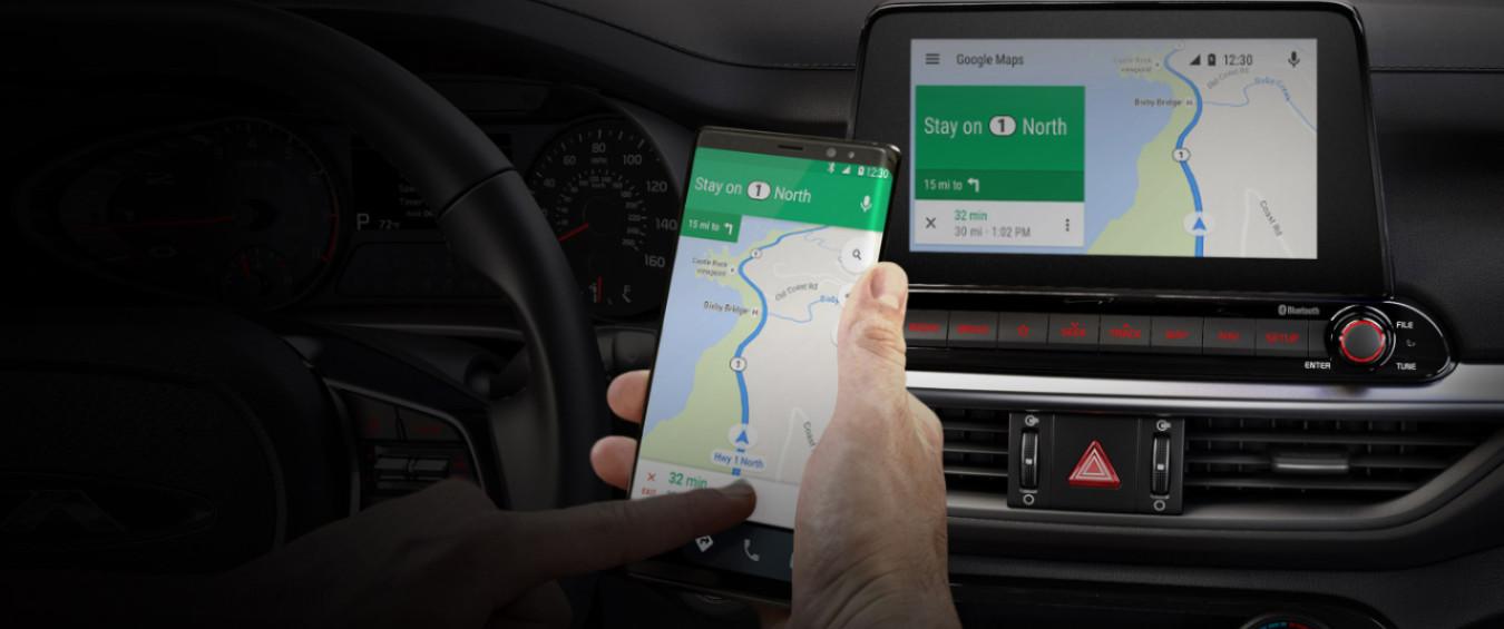 2020 Kia Forte Android Auto™ Navigation Services