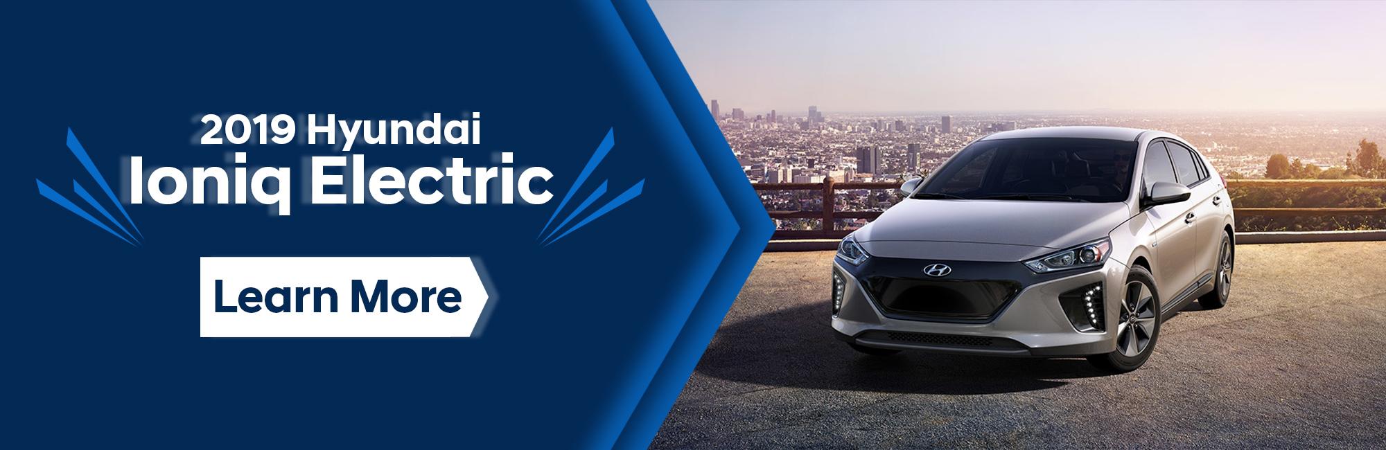 2019 Hyundai Iconiq Electric