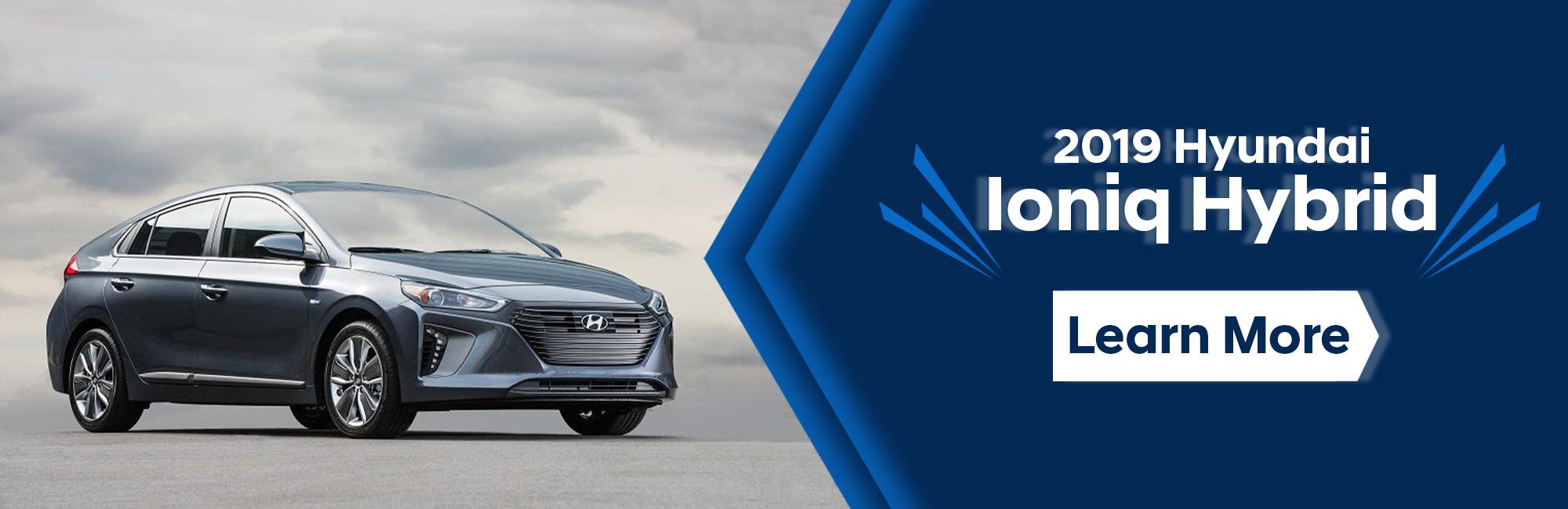 2019 Hyundai Iconiq Hybrid