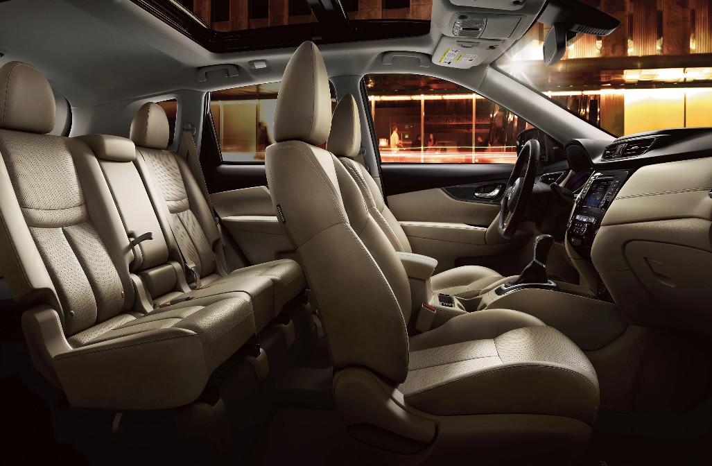 2020 Nissan Rogue Seating