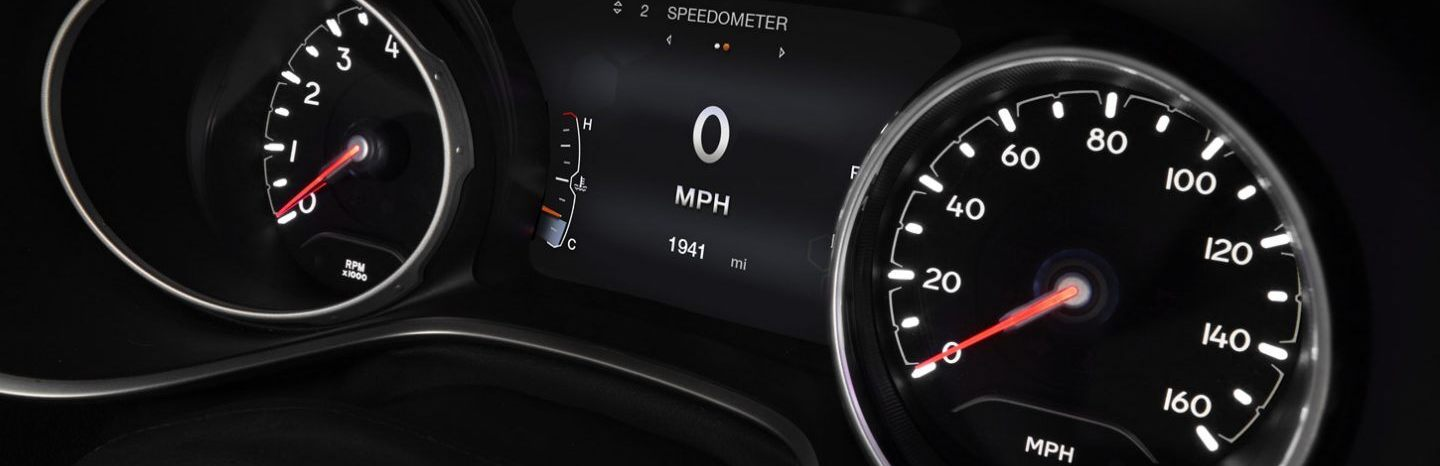 Instrument Panel in the 2020 Jeep Compass