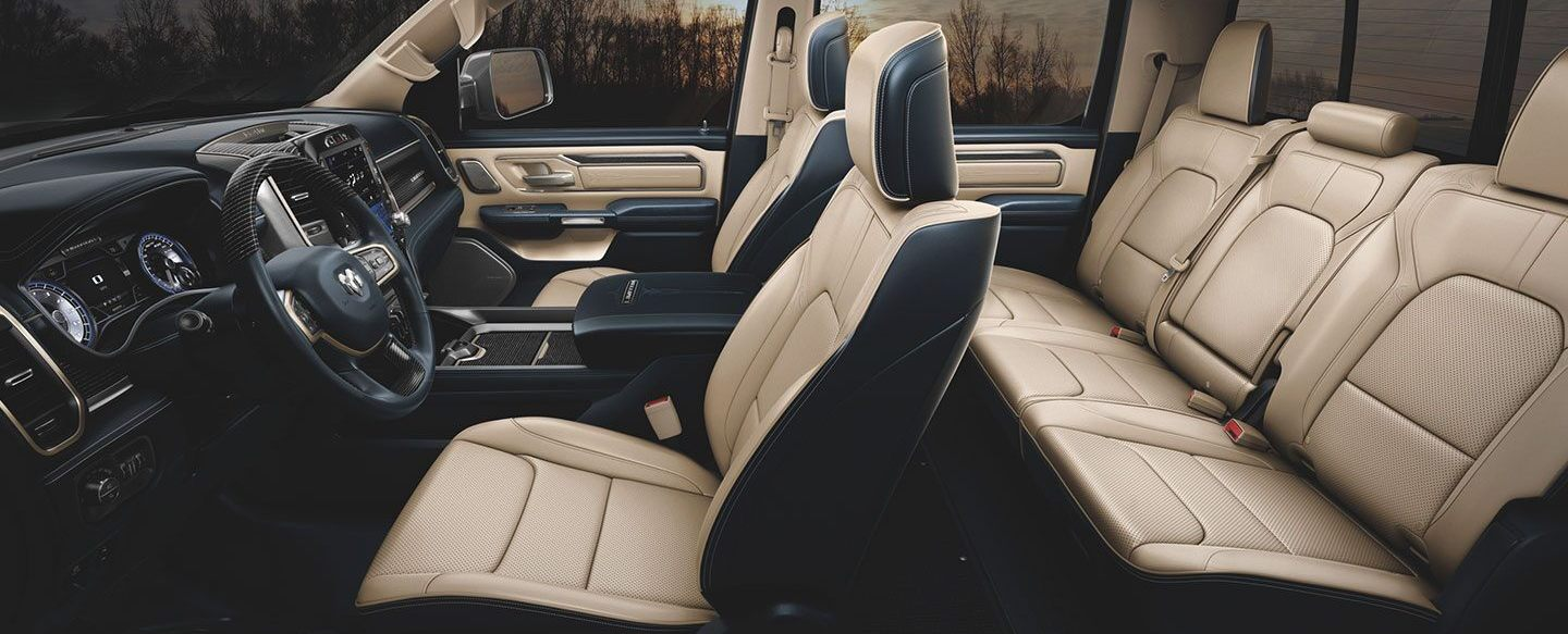 Upscale Interior of the 2020 Ram 1500