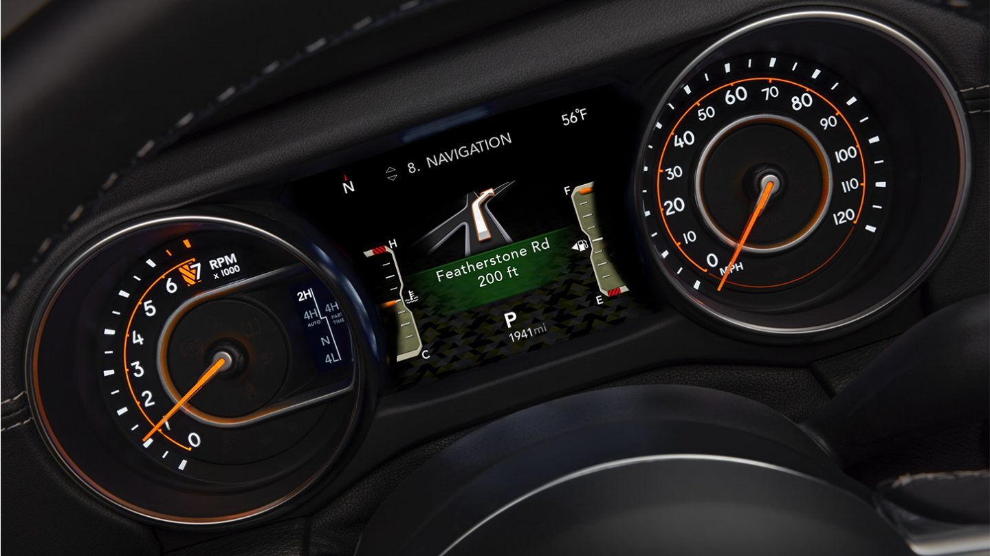 2020 Wrangler Unlimited Navigation