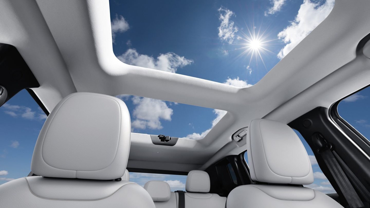 Dual-Pane Sunroof in the 2020 Renegade