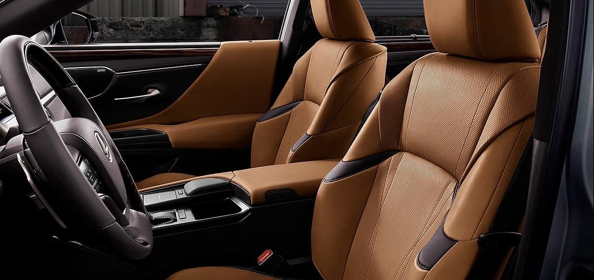 Premier Seating in the 2020 Lexus ES 350