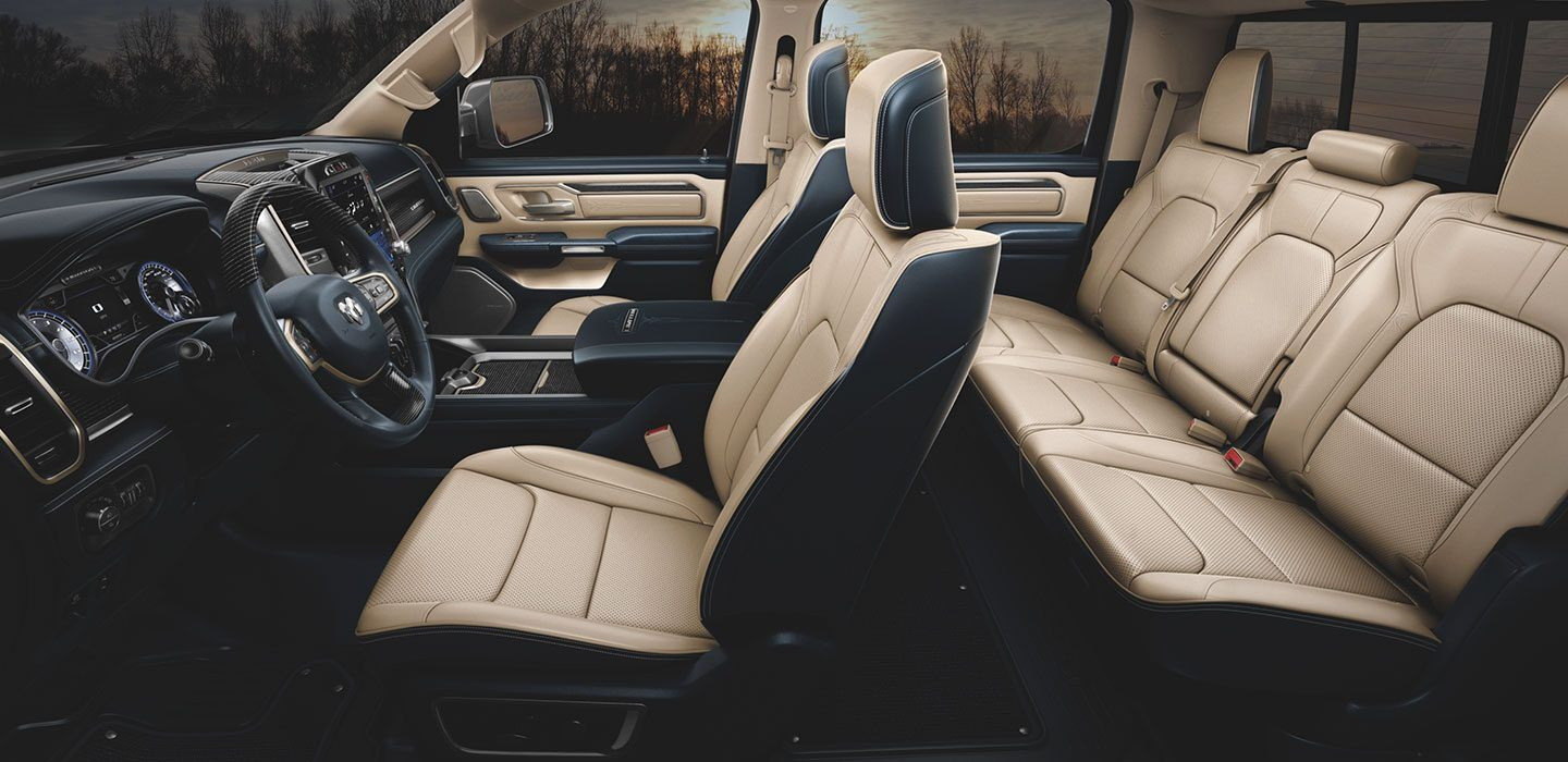 Spacious Cabin of the 2020 Ram 1500