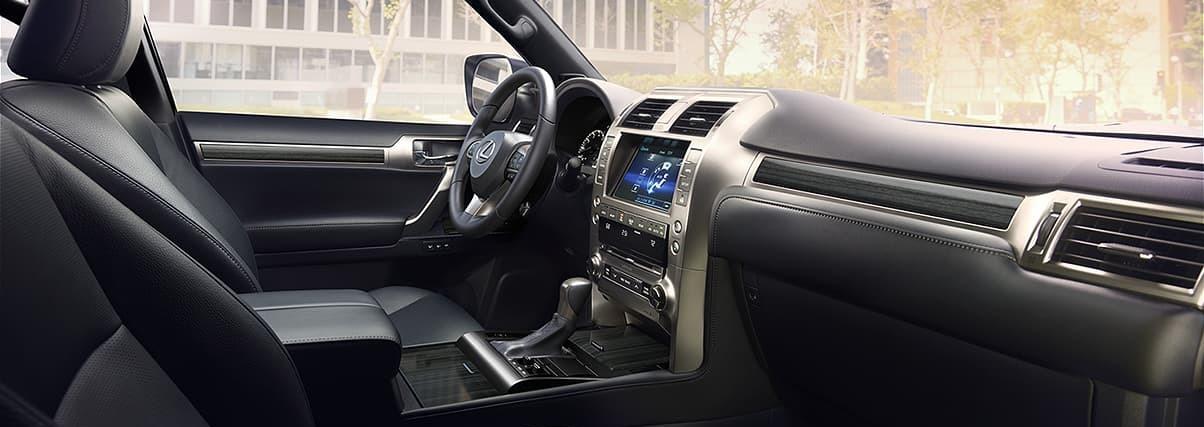 Spacious Cabin of the 2020 Lexus GX 460