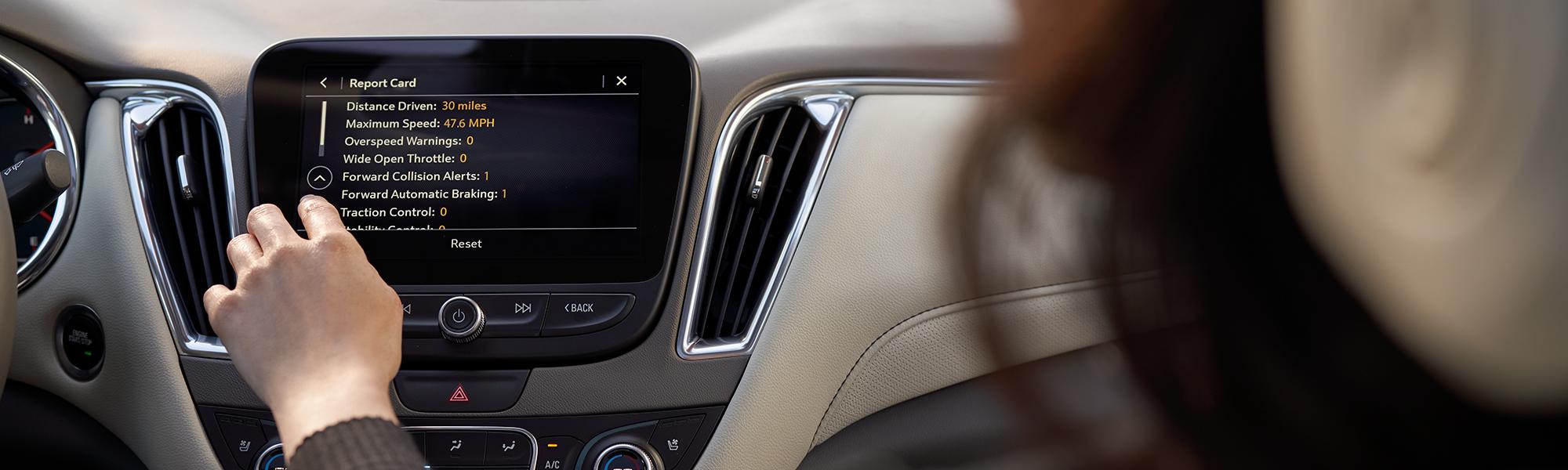 2020 Chevy Malibu interior