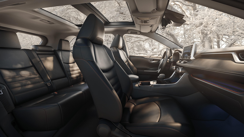 2020 RAV4 Interior