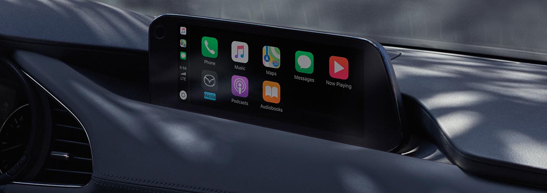 2020 MAZDA3 Hatchback Available Apple CarPlay™