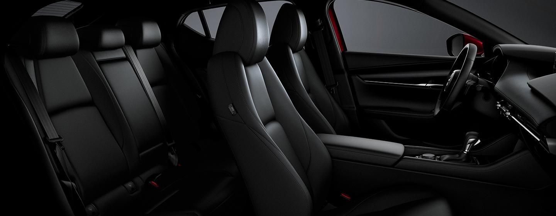2020 MAZDA3 Hatchback Leather Upholstery