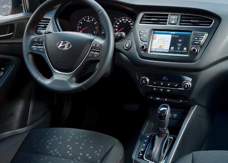 Hyundai i20 dashboard   Autobedrijf Noteboom
