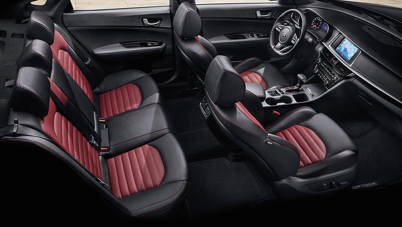2020 Kia Optima Interior Seats
