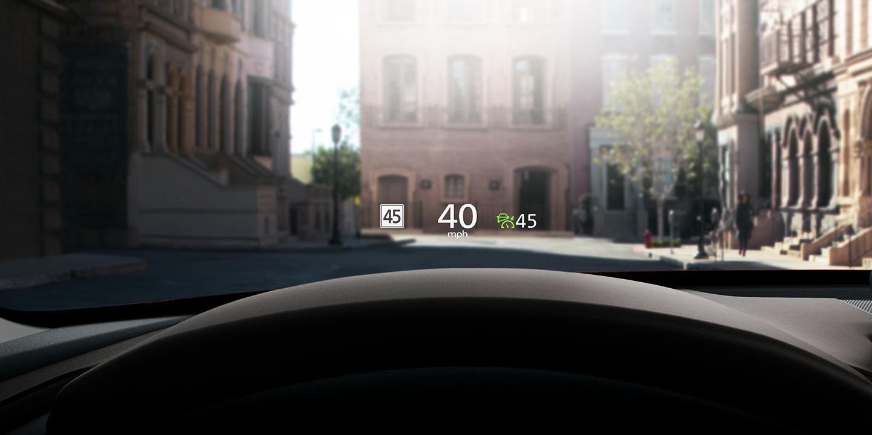 Mazda CX-30 Head Up Display