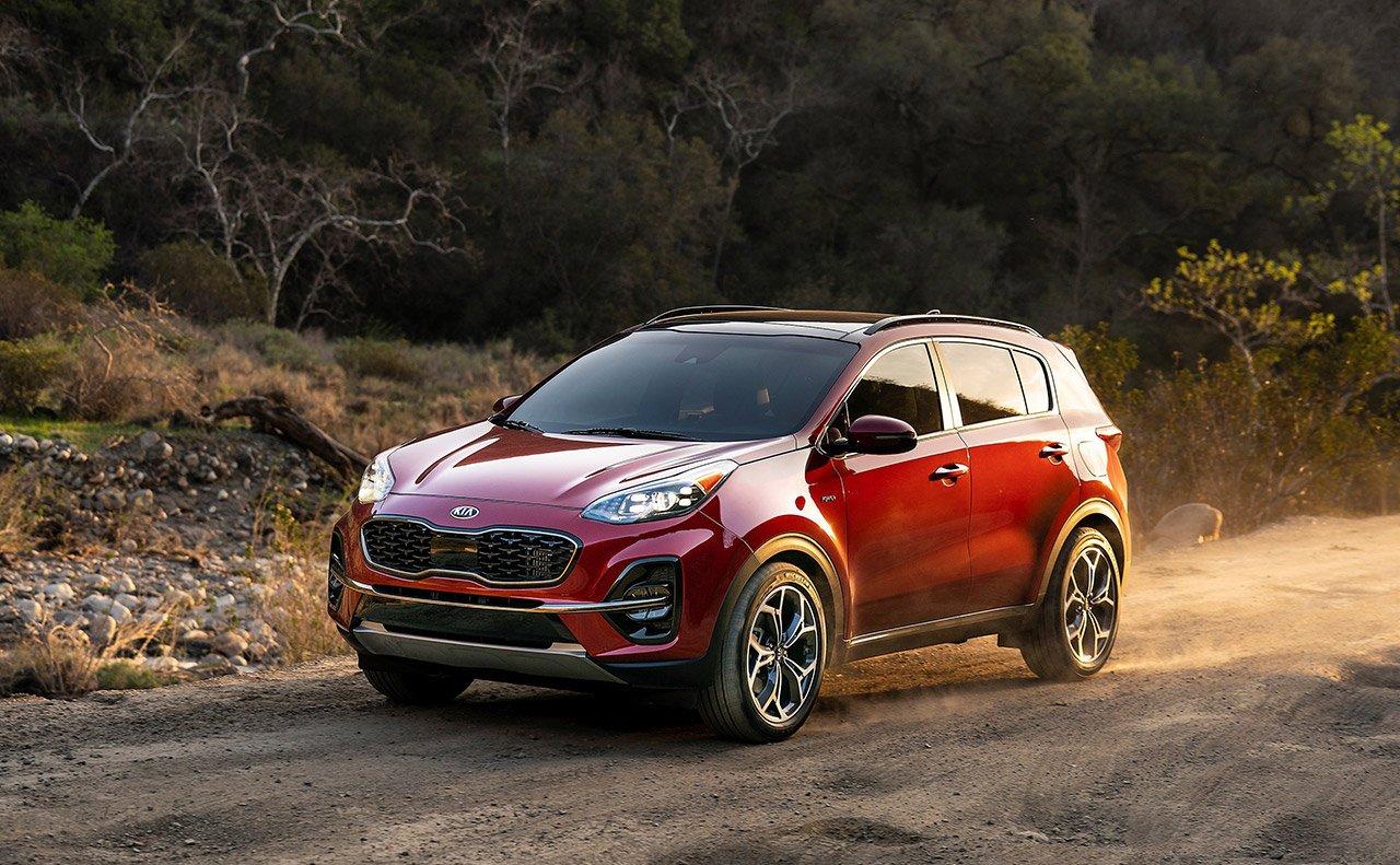 2020 Kia Sportage Technology Features in San Antonio, TX