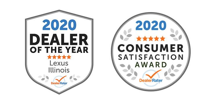 Lexus of Rockford DealerRater Dealer of the Year