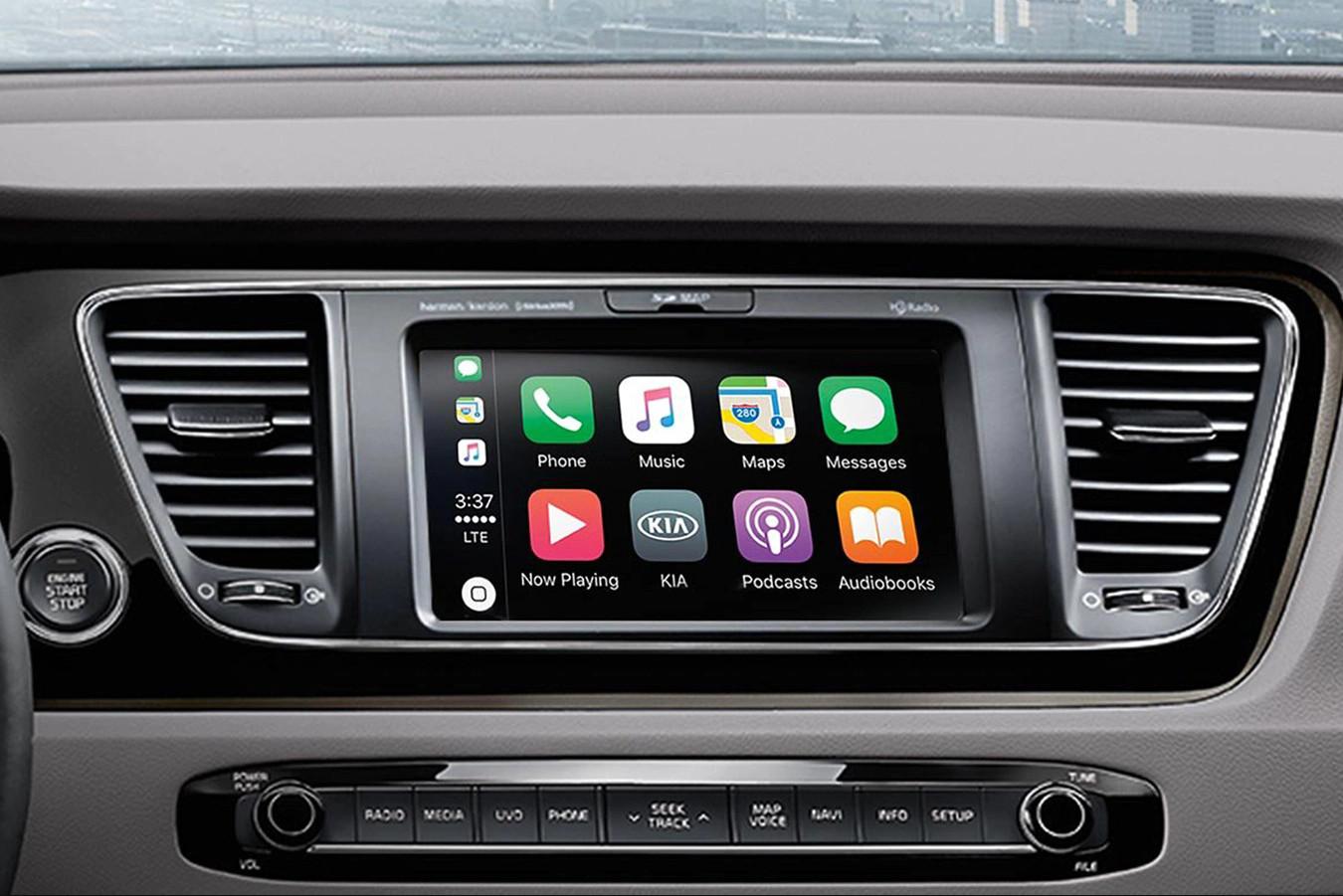 2020 Sedona Touchscreen