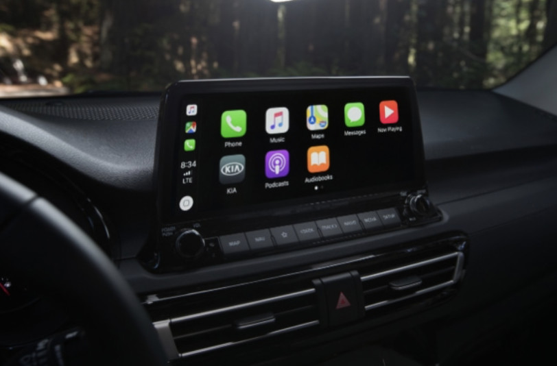 Infotainment in the 2021 Seltos