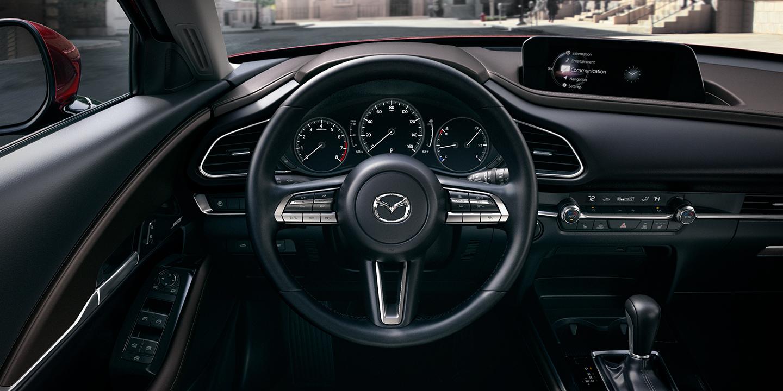 Interior of the 2020 MAZDA CX-30