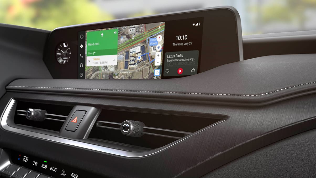 Touchscreen in the 2020 UX 250h