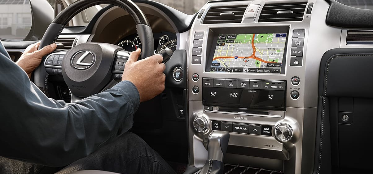 2020 Lexus GX 460 Available Navigation Package