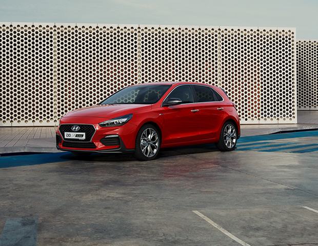 Hyundai i30 N-line rood | Autobedrijf Noteboom